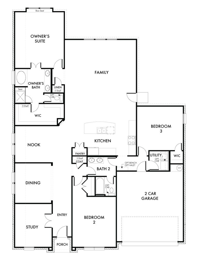 Rochester Floor Plan