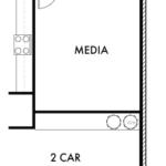 Optional Media Room w/ Alternate 1st Floor