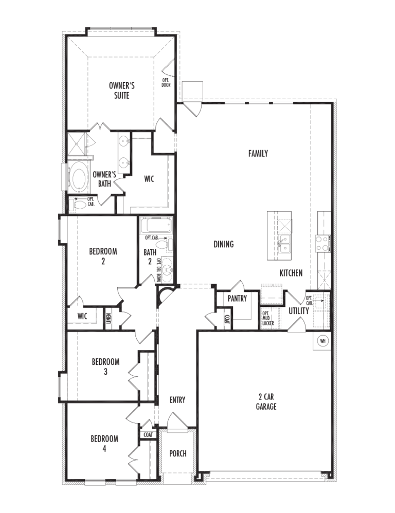 Kensington Floor Plan