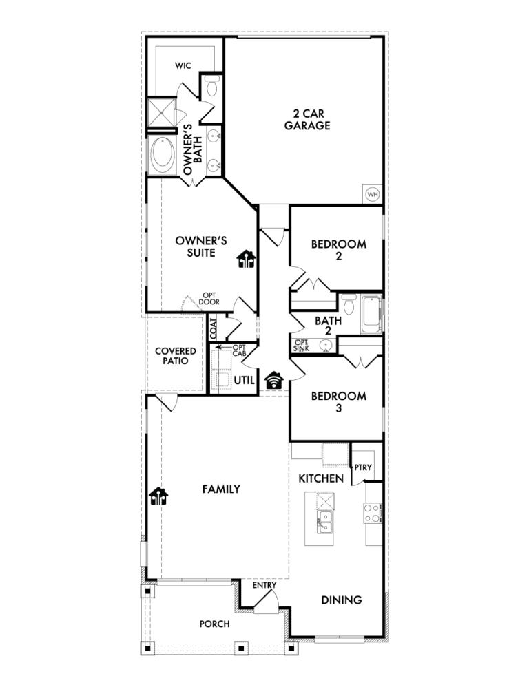 Wesley - Floor Plan