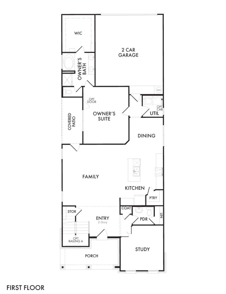 Thorndale - First Floor