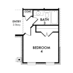 Optional Bedroom 4 & Bath 3