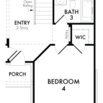 Optional Bedroom 4 & Bathroom 3