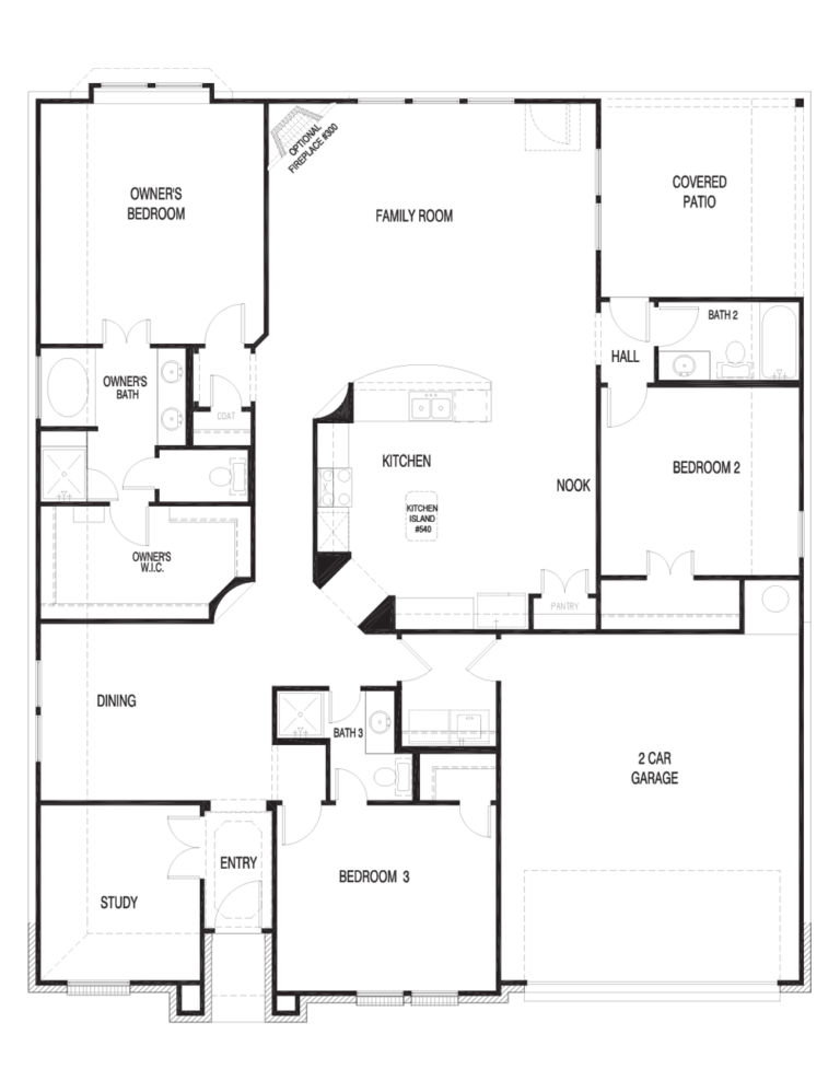 Windsor II Floor Plan