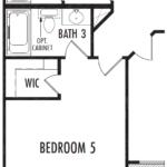 Optional Bedroom 5 w/Bath 3