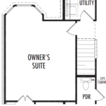 Optional Owner's Suite Bay Window