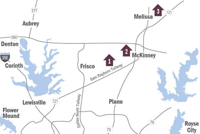 New Homes in Frisco