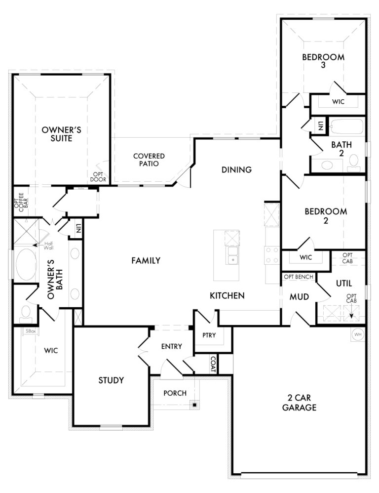 Alderbury - Floor Plan