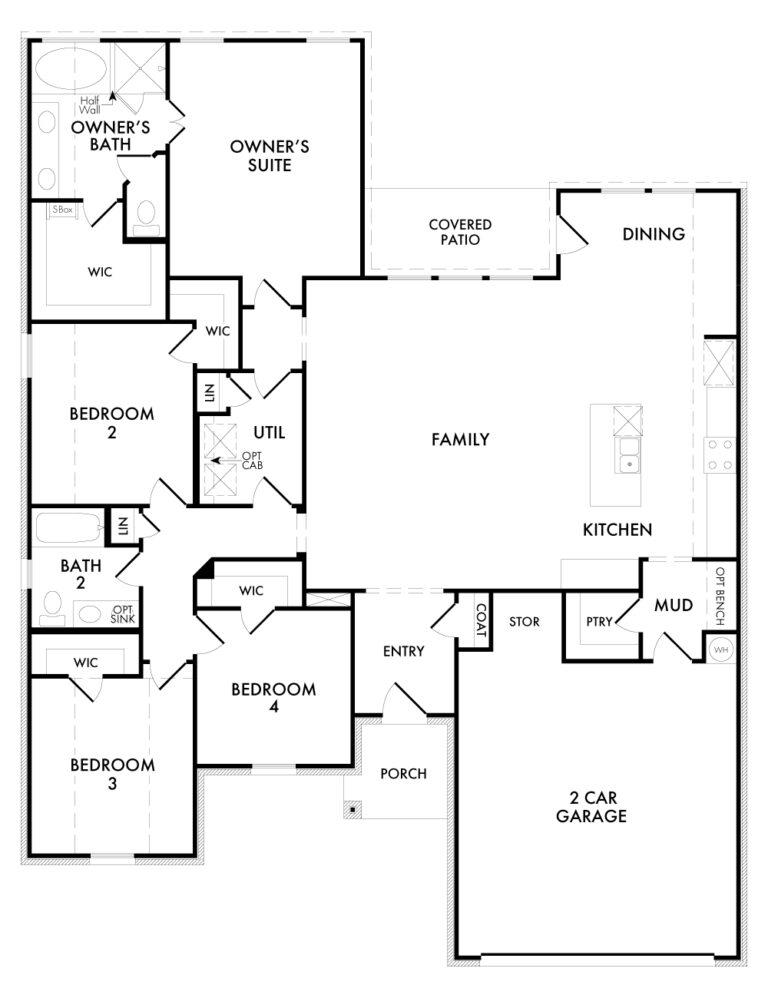 Cromwell - Floor Plan