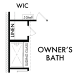 Optional Owner's Bath