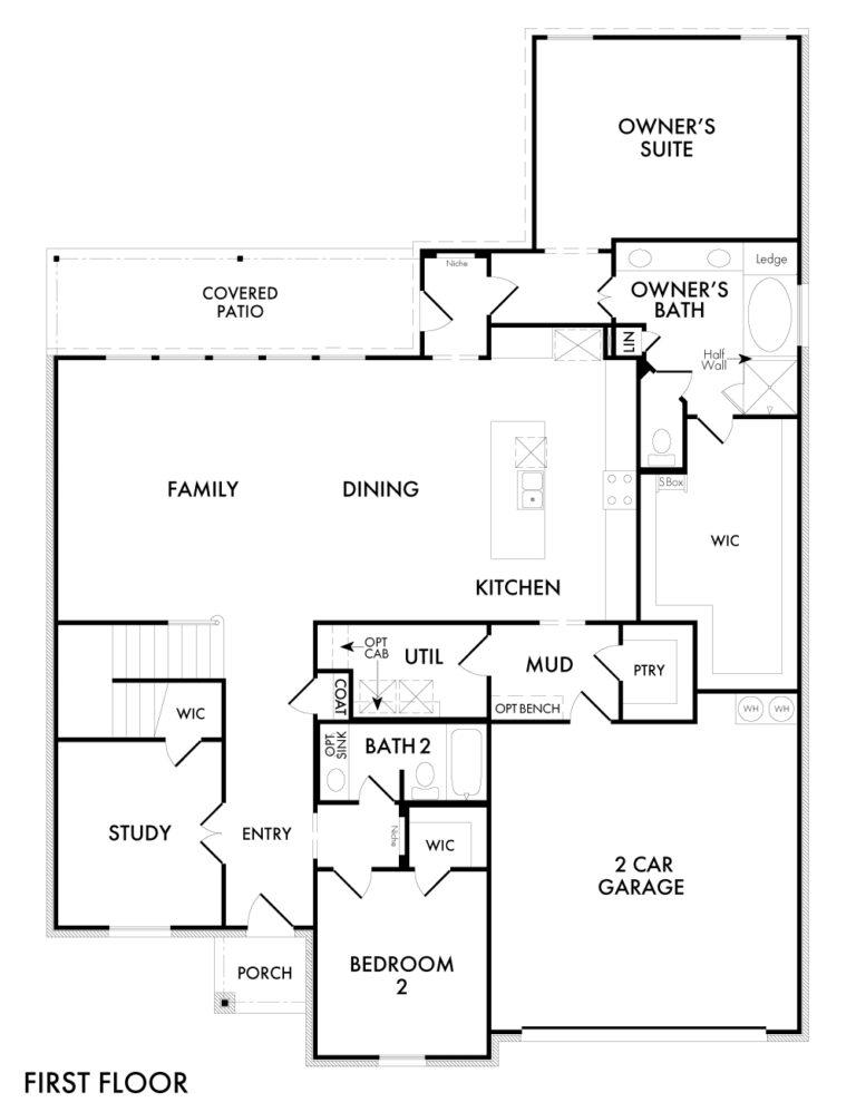 Radcliffe - First Floor