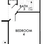 Optional Bedroom 4 w/ Bath 3