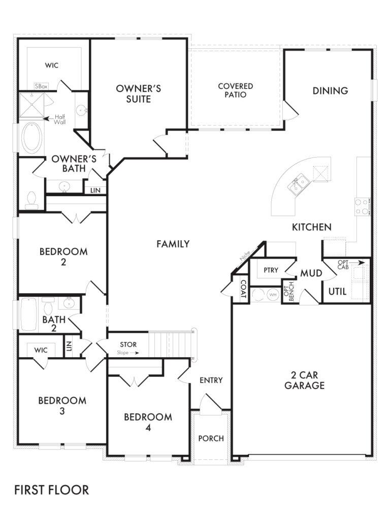 Donnington - First Floor