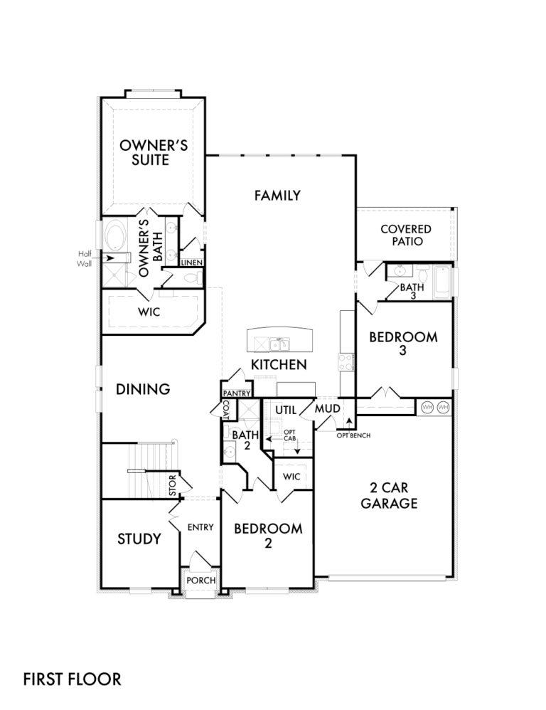 Leybourne - First Floor