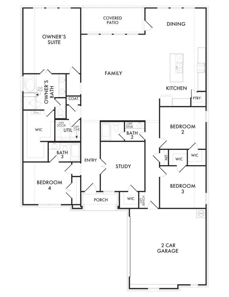 Wharton - Floor Plan