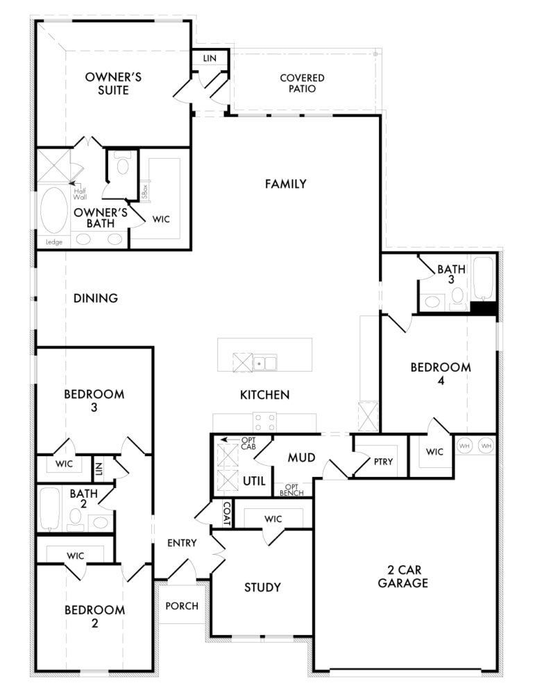 Walden - Floor Plan