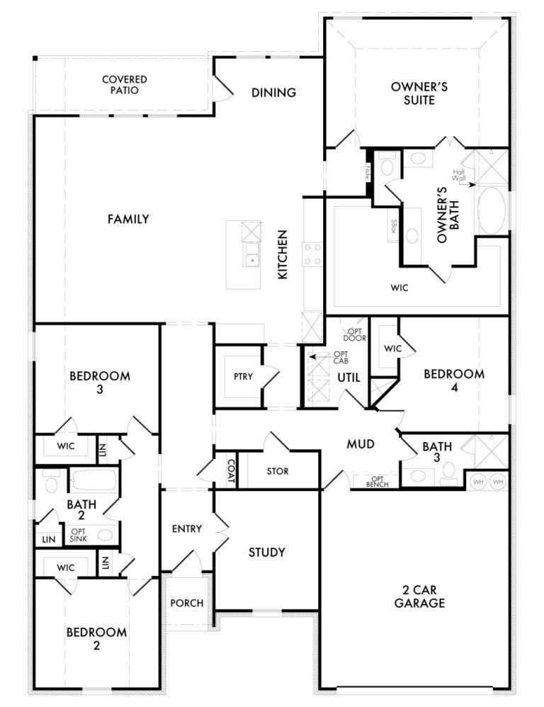 Hampton - Floor Plan