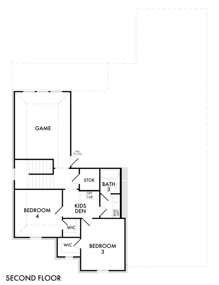 Radcliffe - Second Floor